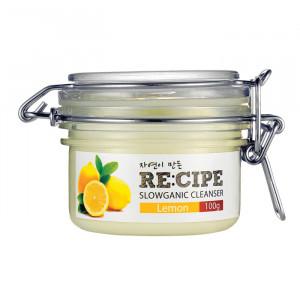 RE:CIPE Slowganic Cleanser Lemon 100g
