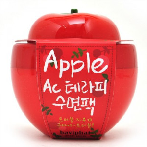 [E] BAVIPHAT Apple AC Therapy Sleeping Pack 100g.