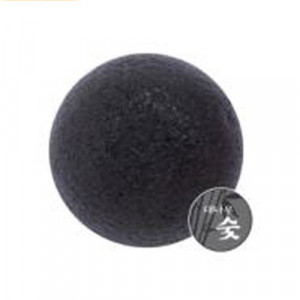 MISSHA Natural Soft Jelly Cleanseing Puff - Charcoal