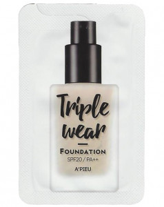 [S] APIEU Triple Wear Foundation SPF20 PA++ 2ml*10ea