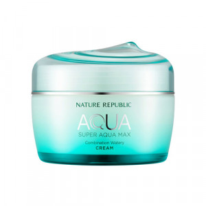 [SALE] NATURE REPUBLIC Super Aqua Max Combination Watery Cream 80ml (GREEN)