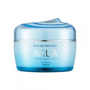 NATURE REPUBLIC Super Aqua Max Fresh Watery Cream 80ml (BLUE)