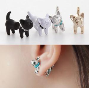 4XTYLE Tribale Cat Earring