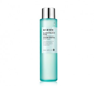 [E] MIZON Black clean up pore water finisher 150ml