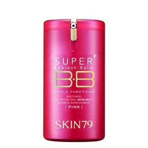 [Online Shop] SKIN79 Super Plus Beblesh Balm Triple Functions (hot pink) SPF30 PA++ 40g