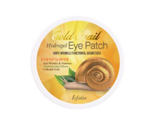 ESFOLIO Gold Snail Hydrogel eye patch