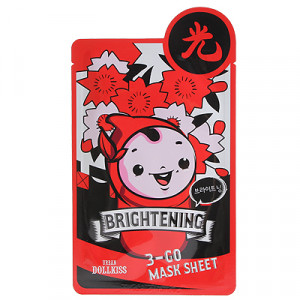 Urban Dollkiss 3-GO Mask Sheet_Brightening