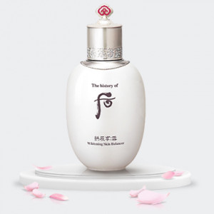 The history of Whoo Gongjinhyang:Seol Radiant white Balancer 150 ml