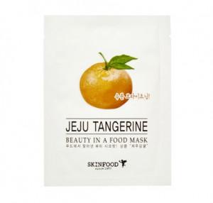 SKINFOOD Beauty in a food mask sheet - Jeju Tangerine
