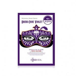 MEDIHEAL Mask Dress code Violet 1sheet