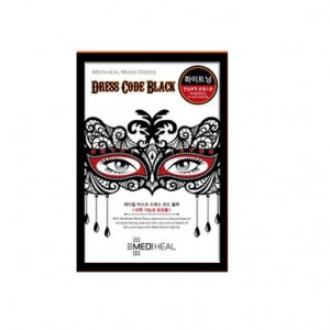 [MERRYSHOP] MEDIHEAL Mask Dress code BLACK 1sheet
