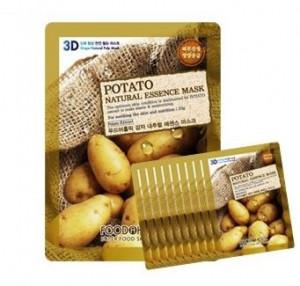 [Online Shop] FOOD A HOLIC 3D Natural Essence Mask [Potato] x10EA