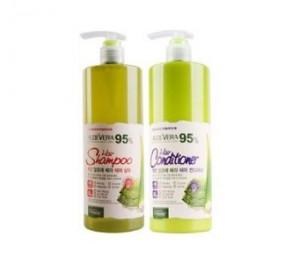 ORGANIA Good Natural Aloe Vera 95% Hair 500g