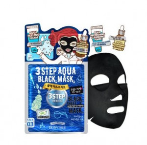 DEWYTREE 3STEP Aqua Black mask [25g/1EA]