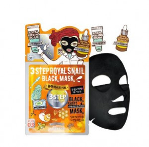 DEWYTREE 3 Step Royal Snail Black mask [25g/1EA]