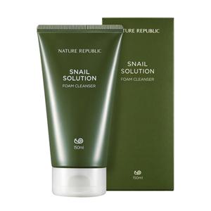 NATURE REPUBLIC Snail Solution Foam Cleanser 150ml