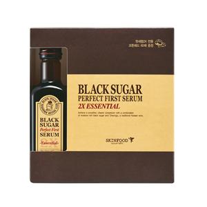 [35DC]SKINFOOD Black Sugar Perfect First Serum 2X Essential 120ml