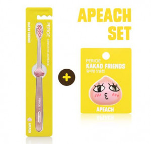 PERIO x KAKAO FRIENDS Toothbrushes cap + Toothbrush