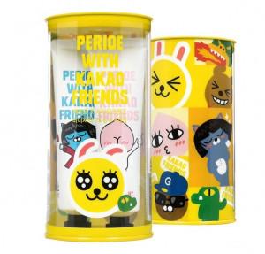PERIO x KAKAO FRIENDS Mini Toothbrush75g*4ea