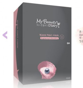 [OLIVEYOUNG] My beauty Diary Black Pearl mask /2 sheet