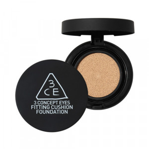 STYLENANDA 3CE Fitting Cushion Foundation SPF50+ PA+++ 12g + Refill 12g