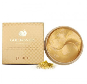 [SALE] PETITFEE Gold & Snail Hydrogel eye patch