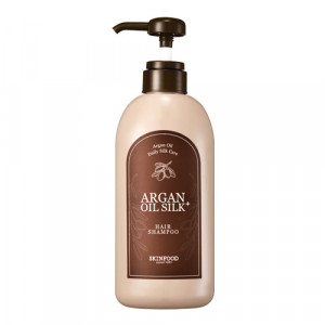 [SKINFOOD] Argan Oil Silk Plus Shampoo 500ml