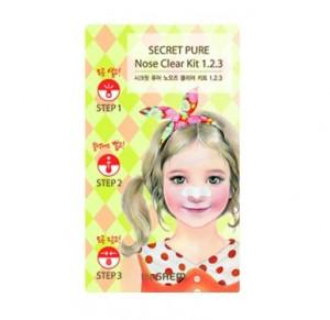 THE SAEM Secret Pure Nose Clear Kit 1?2?3