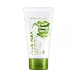 [Reseller] NATURE REPUBLIC Soothing & Moisture Aloe Vera Foam Cleanser 150ml*12ea