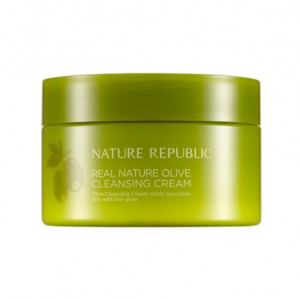 [NATURE REPUBLIC] Real Nature Olive Cleansing Cream 200ml