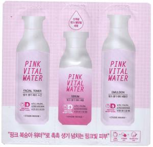[S] ETUDE House Pink Vital Water 3 Items 1.5ml+1.5ml+1ml*10ea