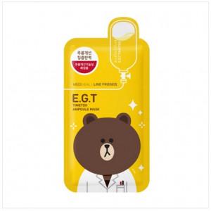 [SALE] MEDIHEAL Line Friends E.G.T Timetox Ampoule Mask 1box (10pcs)