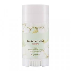 NATURE REPUBLIC Fresh Deodorant Stick - Floral 45g