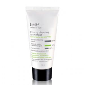 [L] BELIF Creamy Cleansing Foam Moist 30ml