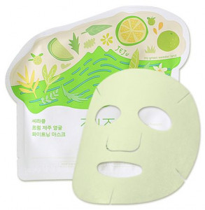 CIRACLE From Jeju Citrus Sudachi whithening mask