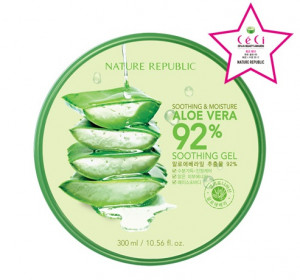 [SALE] NATURE REPUBLIC Soothing & Moisture Aloe Vera 92% Soothing Gel 300ml