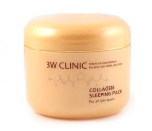 [SALE] 3W CLINIC Collagen Sleeping Pack 100ml