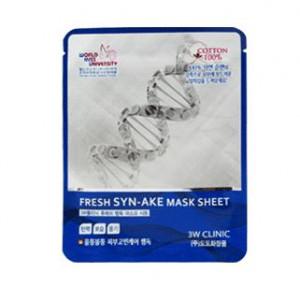 3W CLINIC Fresh mask sheet [SYN-AKE] X10sheet