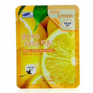 [SALE] 3W CLINIC Fresh mask sheet [Lemon] X10sheet