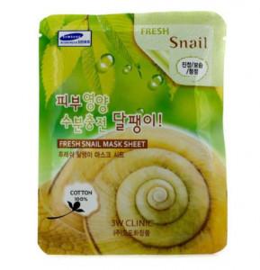 [SALE] 3W CLINIC Fresh mask sheet [Snail] X10sheet