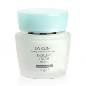 [SALE] 3W CLINIC Excellent Cream White Cream 50g