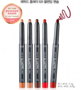 [E] ETUDE HOUSE Play 101 Blending Pencil 1.1g/ 0.9g