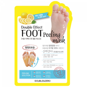 [SALE] DOUBLE & ZERO Double Effect Foot Peeling Mask 1ea