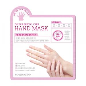[SALE] DOUBLE & ZERO Double Moisture Collagen Coating Hand Mask 10ea
