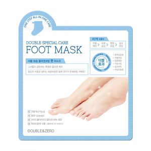 [SALE] DOUBLE & ZERO Double Moisture Collagen Coating Foot Mask 10ea