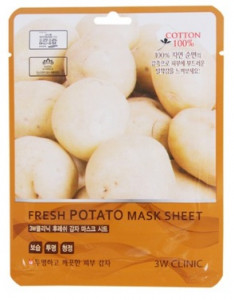 [SALE] 3W CLINIC Fresh mask sheet [Potato] X10sheet