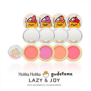 HOLIKAHOLIKA LAZY&JOY Jelly Dough Blusher2 (Gudetama Edition) 6g