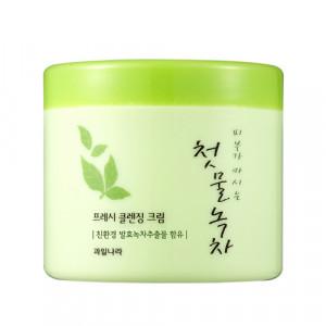 [W] The First Green Tea Fresh Cleansing Cream 300g