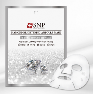 [SALE] SNP Diamond Brightening Ampoule Mask 25ml*10ea