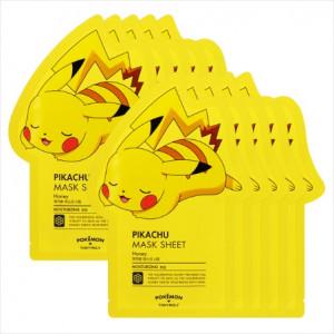 TONYMOLY Pokemon Mask Sheet 10ea (Pokemon Edition)